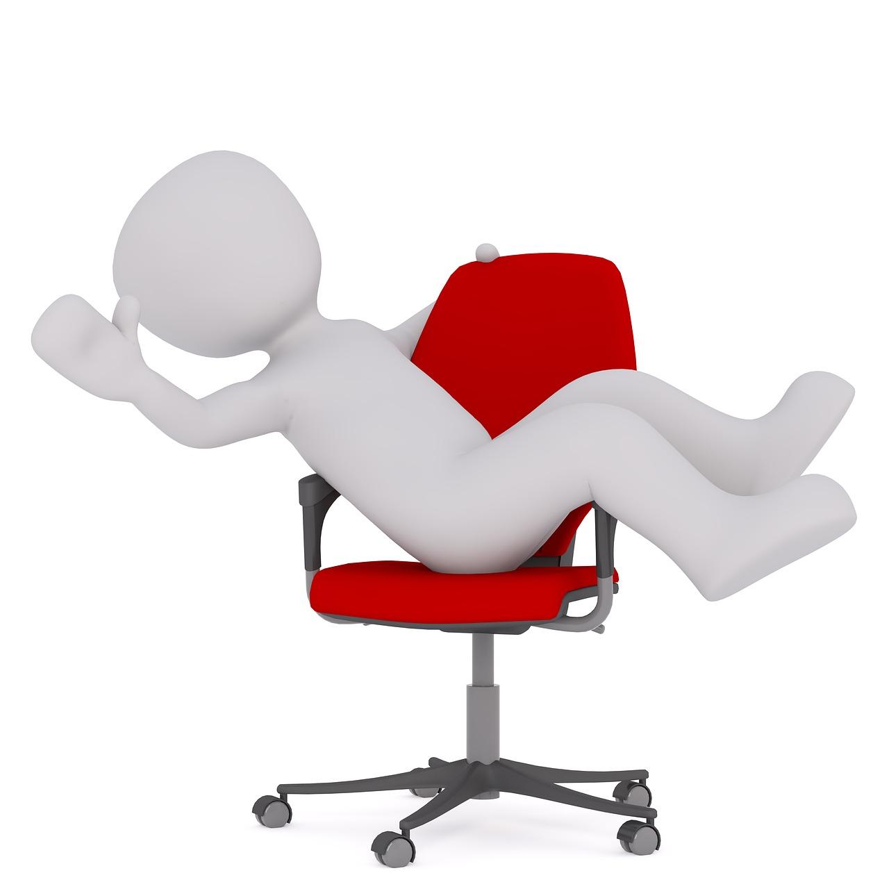 Jak zablokować krzesło obrotowe